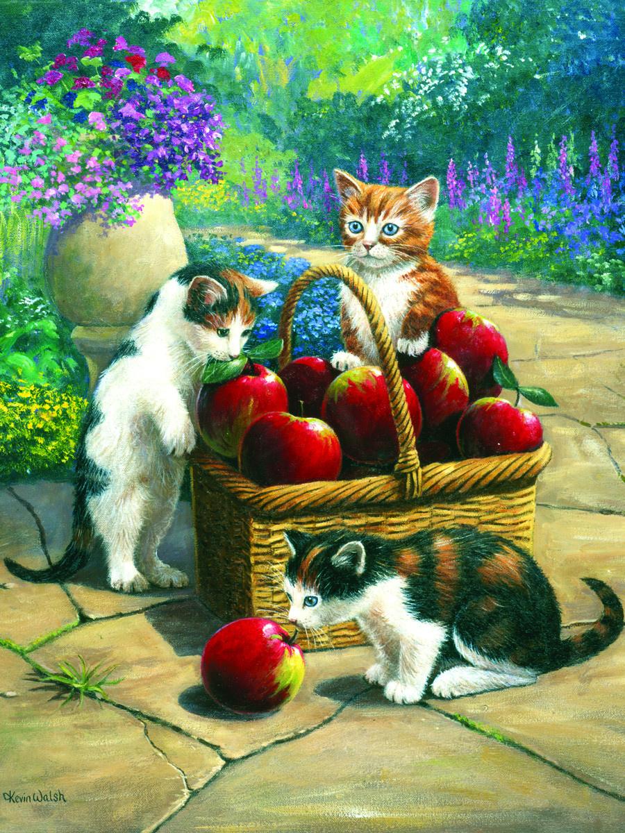 Royal & Langnickel Картина по номерам Котята в корзинке ...