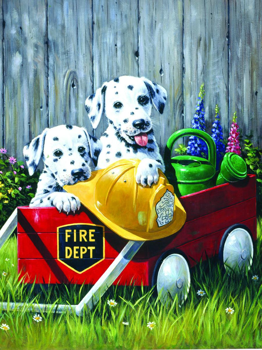 Royal & Langnickel Картина по номерам Пожарная команда ...