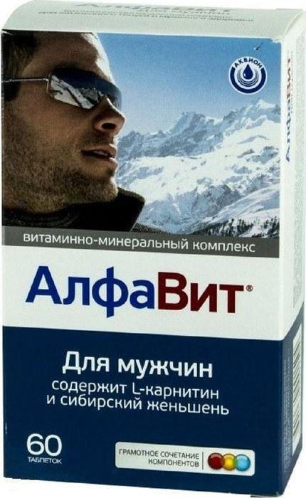 """Витаминно-минеральный комплекс Алфавит """"Для мужчин"""", 60 таблеток  #1"""