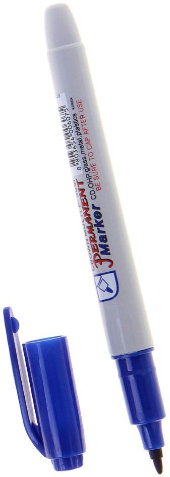 Crown Маркер перманентный P-505F цвет синий #1