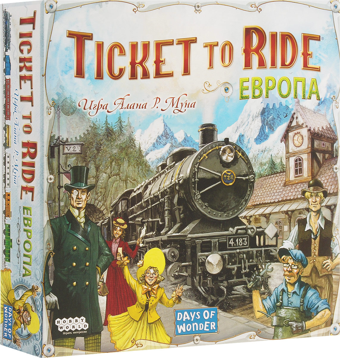 Hobby World Настольная игра Ticket to Ride Европа 3-е издание #1