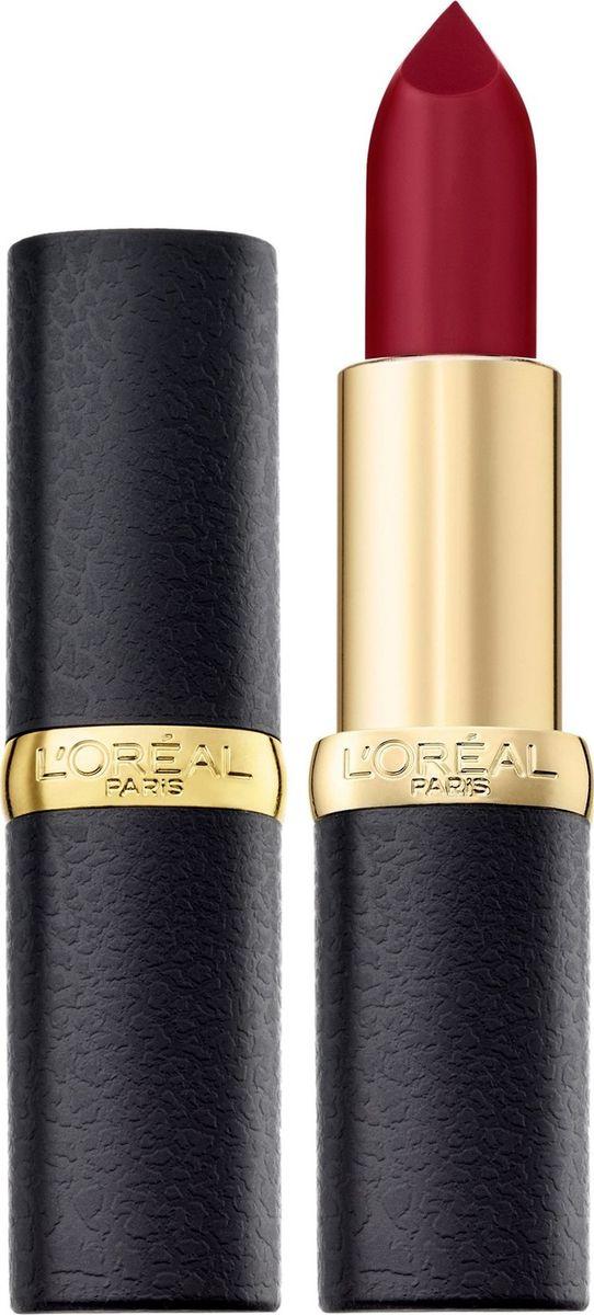 L'Oreal Paris Помада для губ Color Riche, MatteAddiction матовая, оттенок 430, Бордовый поворот  #1