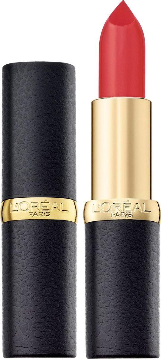 L'Oreal Paris Помада для губ Color Riche, MatteAddiction матовая, оттенок 241, Незабываемый коралл  #1