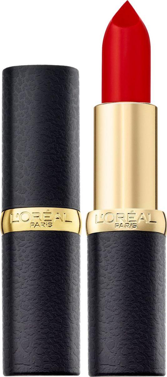 L'Oreal Paris Помада для губ Color Riche, MatteAddiction матовая, оттенок 346, Красное совершенство  #1