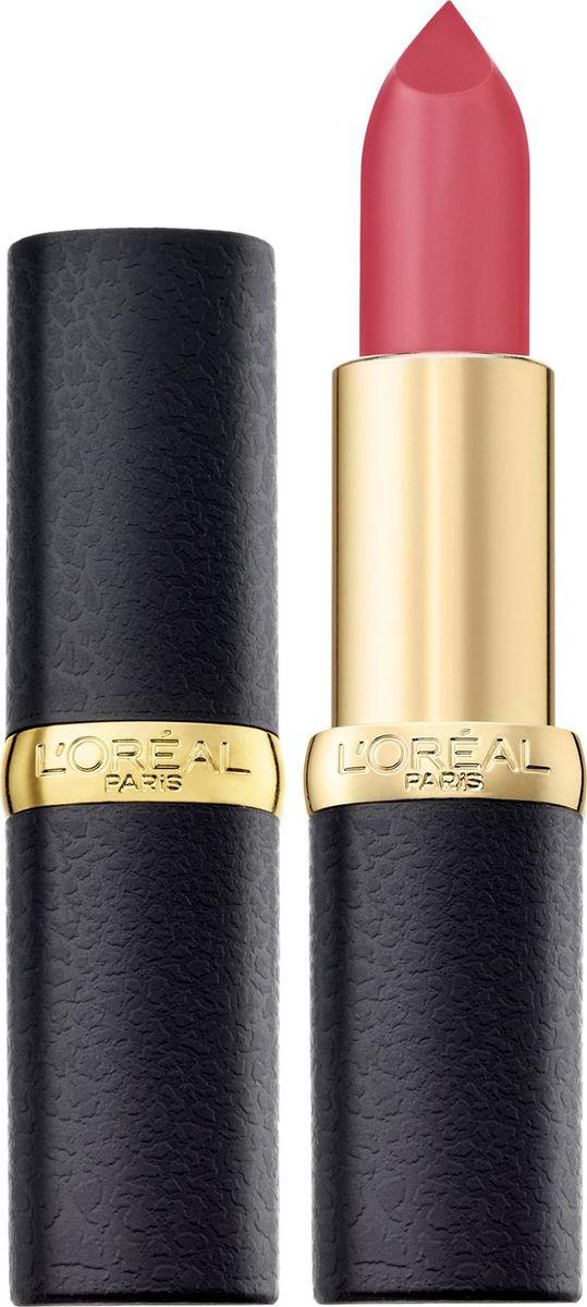 L'Oreal Paris Помада для губ Color Riche, MatteAddiction матовая, оттенок 104, Ягодная нежность  #1