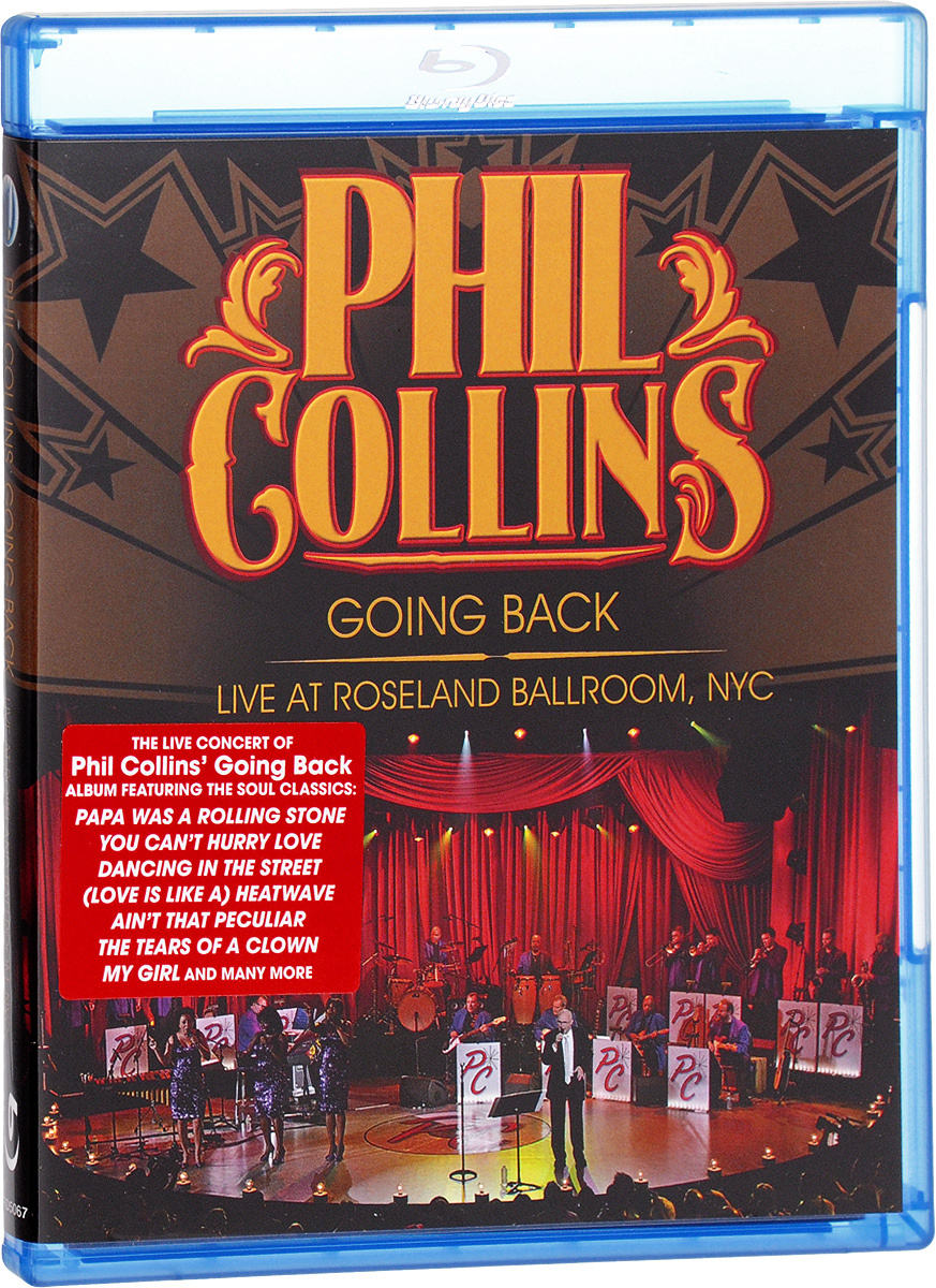 Phil Collins - Going Back: Live at Roseland Ballroom NYC (Blu-ray) #1