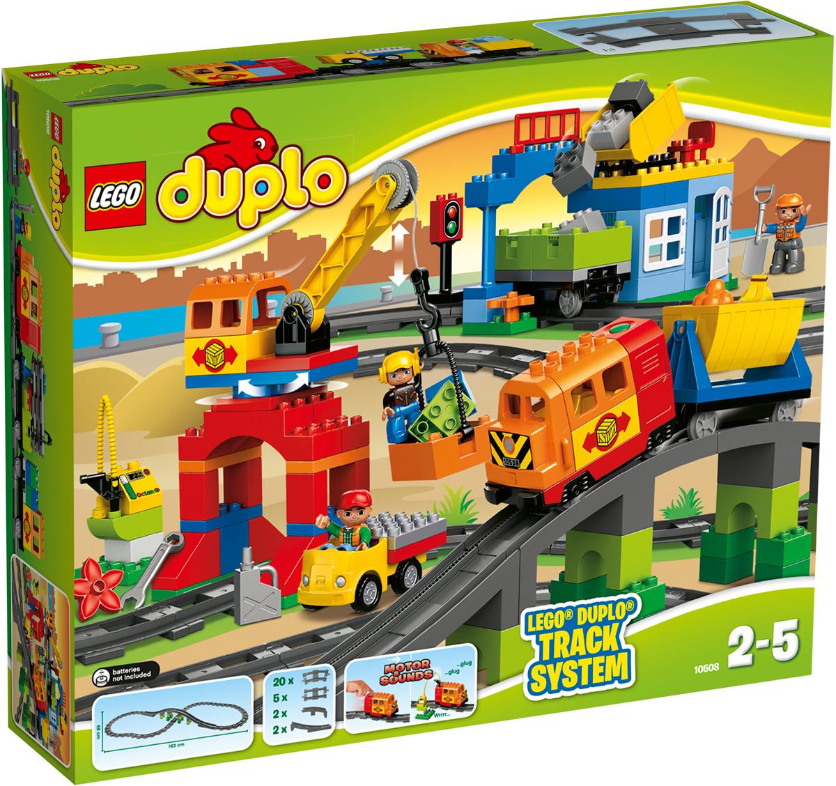 LEGO DUPLO Конструктор Большой поезд 10508 #1