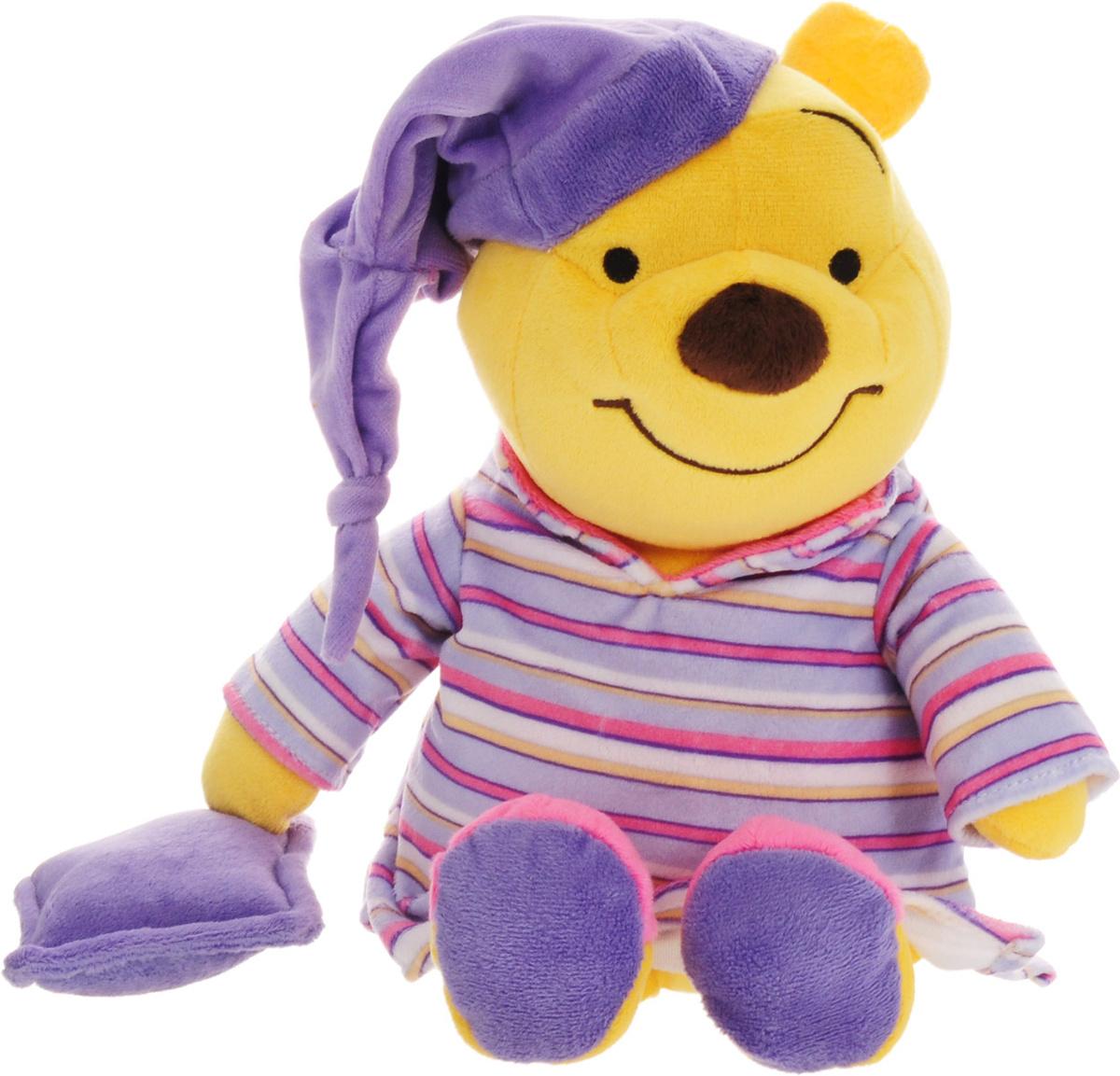 Сонный Винни. Мягкая говорящая игрушка, 35 см #1