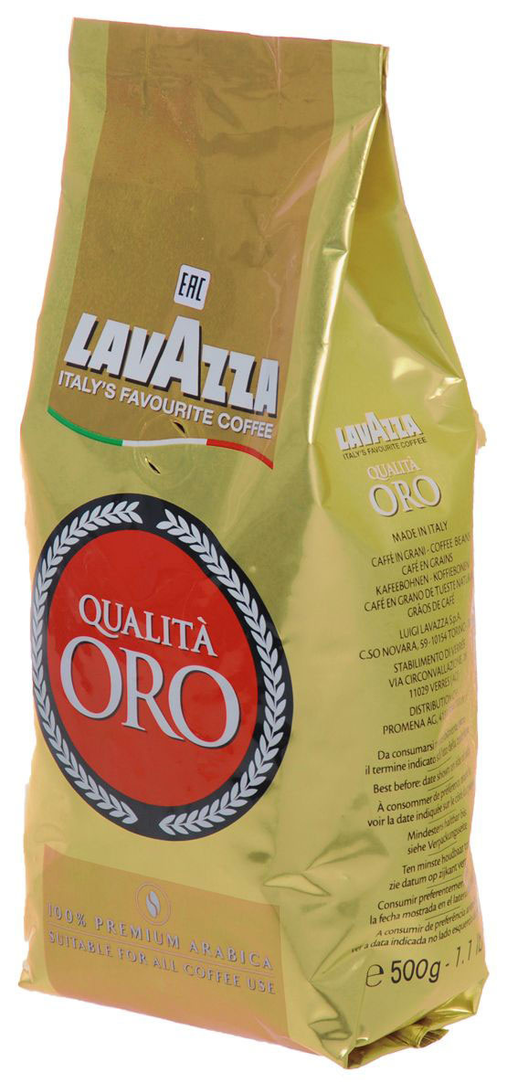 Кофе в зернах Lavazza Qualita Oro, 500 г #1