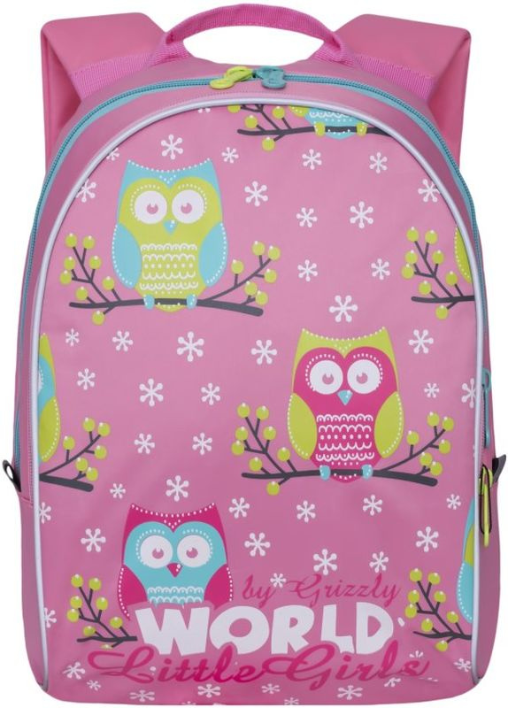Grizzly Рюкзак дошкольный цвет розовый RS-764-2/4 #1