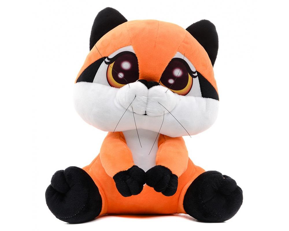 СмолТойс Мягкая игрушка Енотик Сенька 26 см #1