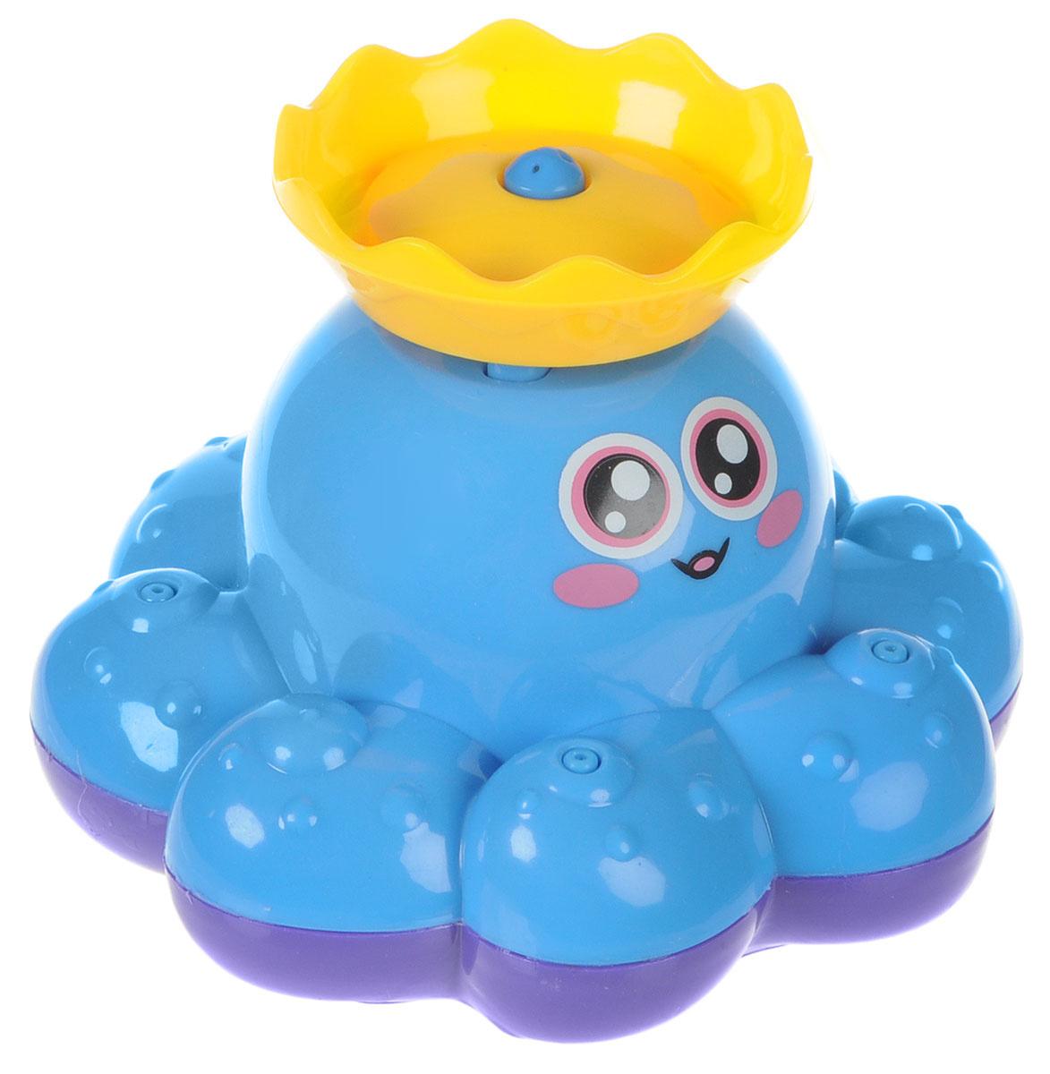 ABtoys Игрушка для ванной Осьминог-фонтан цвет голубой #1