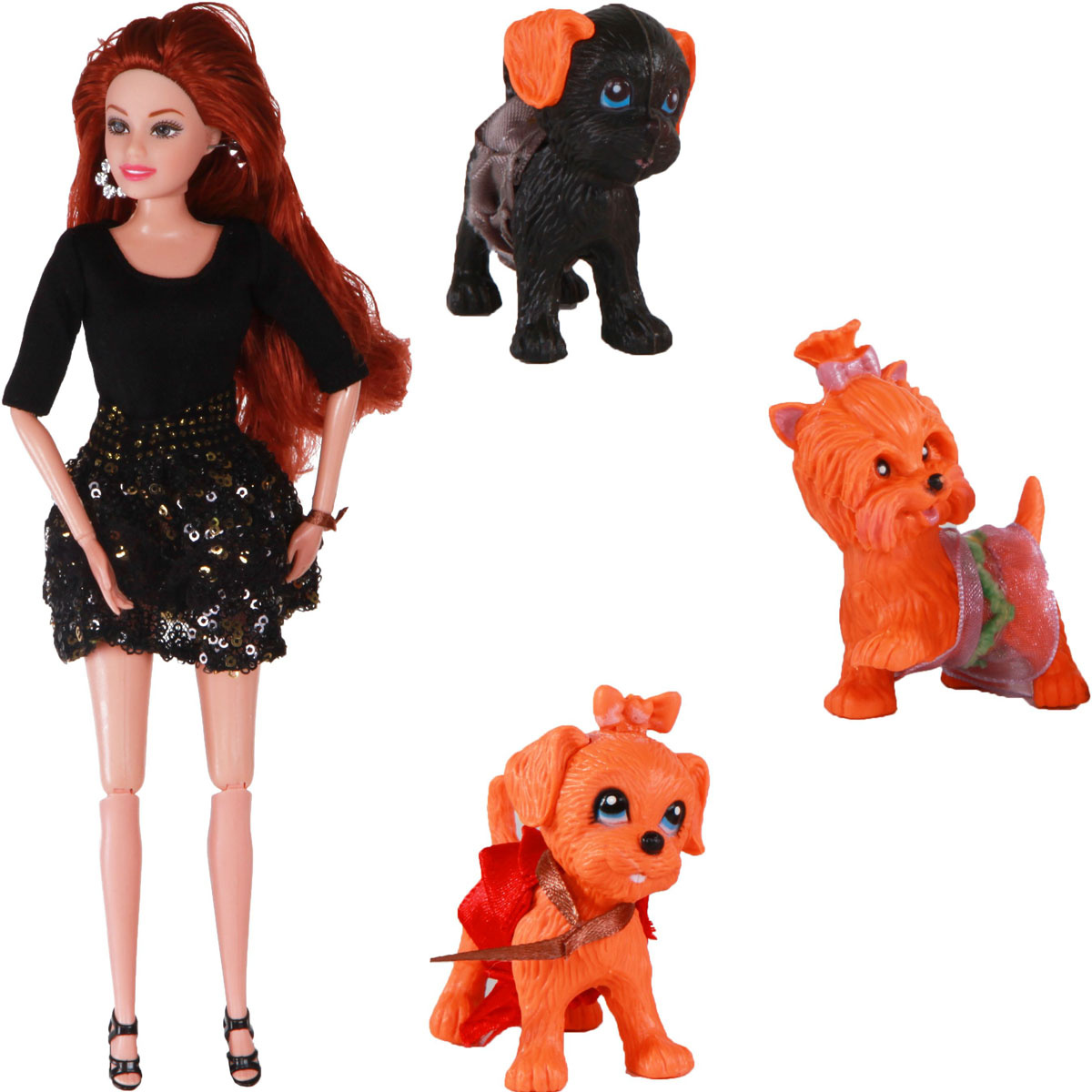 Yako Кукла Жанетт и забавные друзья M6583-1 #1