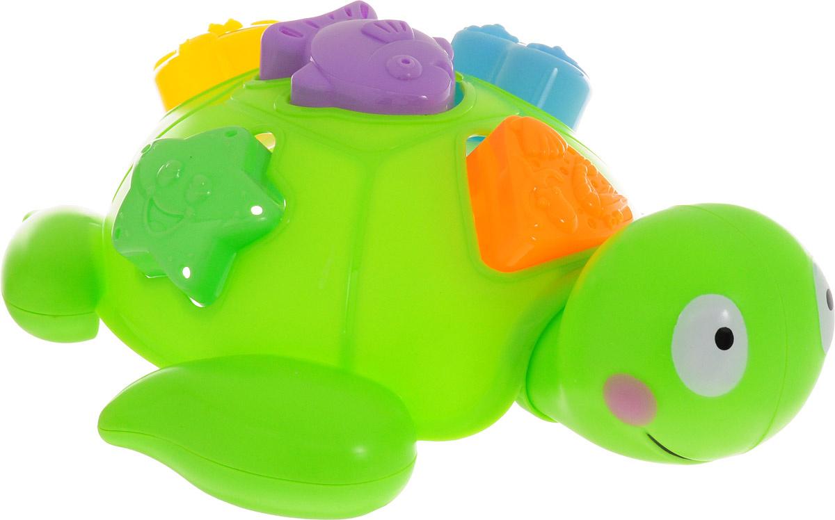 ABtoys Игрушка для ванной Черепашка сортер #1