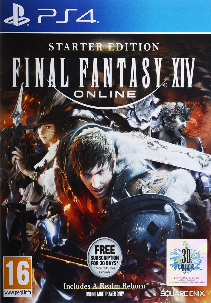 Final Fantasy XIV: Стартовое издание (PS4) #1