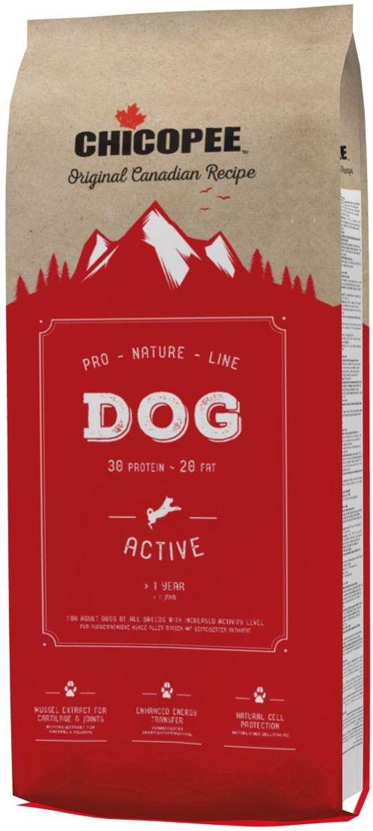 """Корм сухой Chicopee """"Pro Nature"""" для взрослых активных собак, 20 кг  #1"""