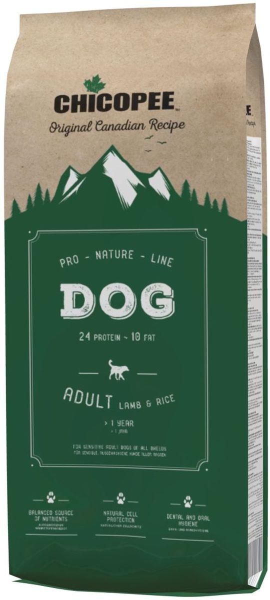 """Корм сухой Chicopee """"Pro Nature"""" для взрослых собак с чуствительным пищеварением, с ягненком и рисом, #1"""