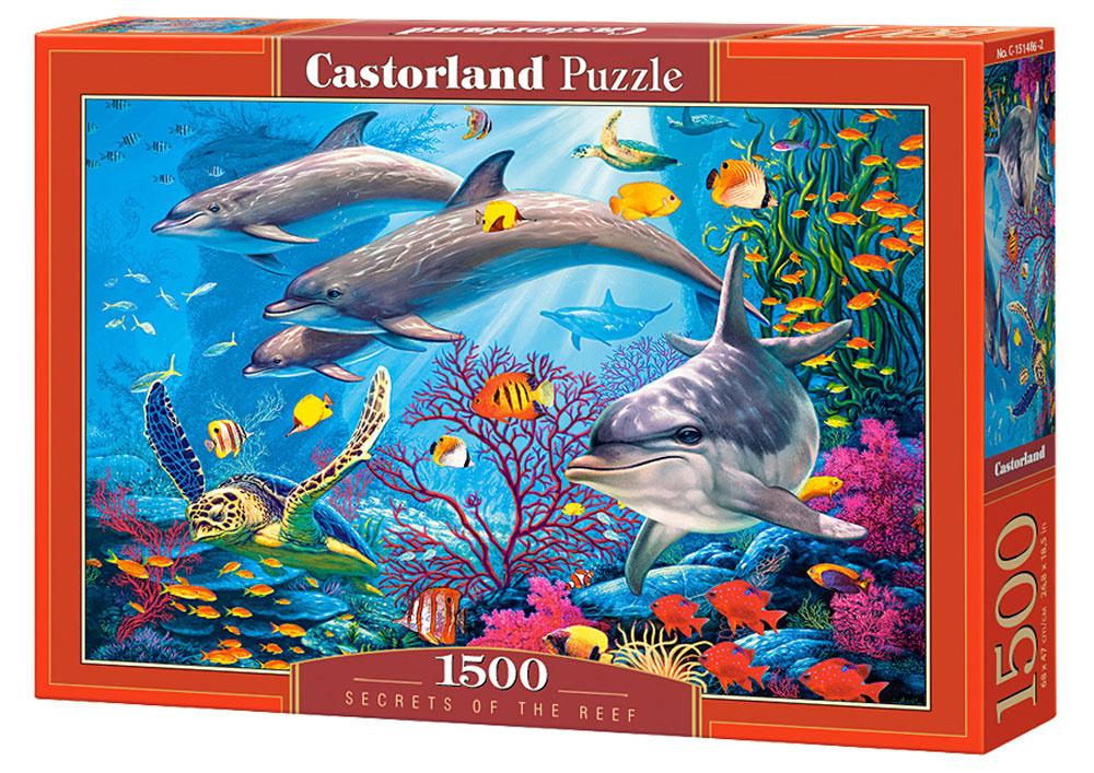 Castorland Пазл Секреты рифа #1