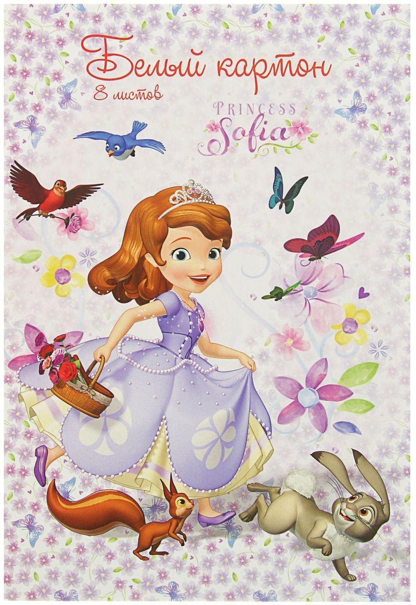 Disney Картон белый София Прекрасна 8 листов #1