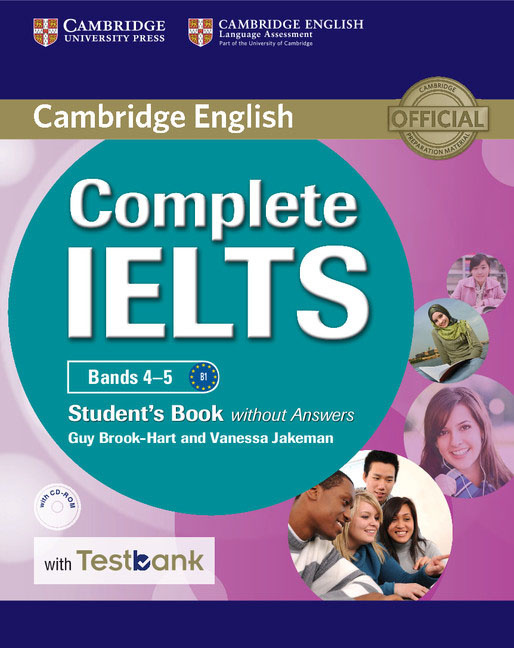 Complete IELTS Bands 4–5: Student's Book without Answers with Testbank (+ CD-ROM)   Brook-Hart Guy, Jakeman #1