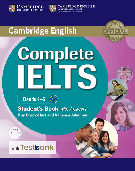 Complete IELTS Bands 4–5: Student's Book with Answers with Testbank (+ CD-ROM) | Jakeman Vanessa, Brook-Hart #1