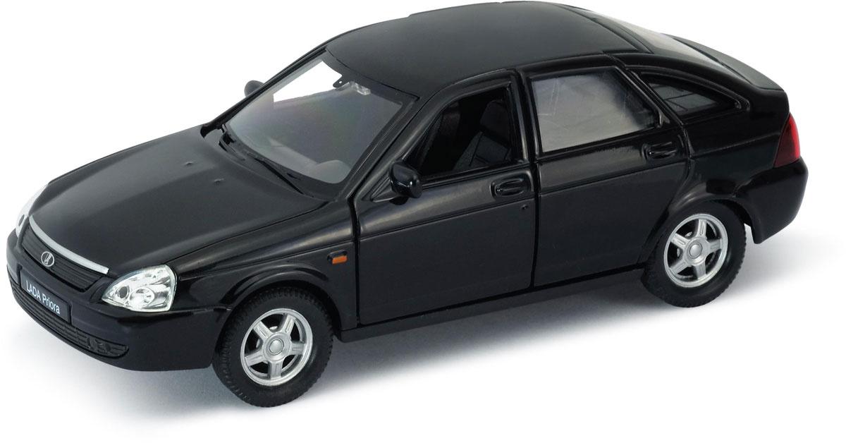 Welly Модель автомобиля LADA Priora цвет черный #1