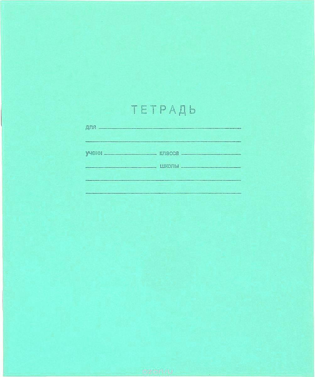 КПК Тетрадь 12 листов в клетку цвет зеленый 689078 #1
