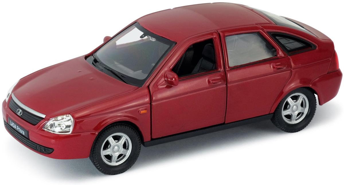 1116dc552686 Welly Модель автомобиля LADA Priora цвет красный — купить в  интернет-магазине OZON.ru с быстрой доставкой