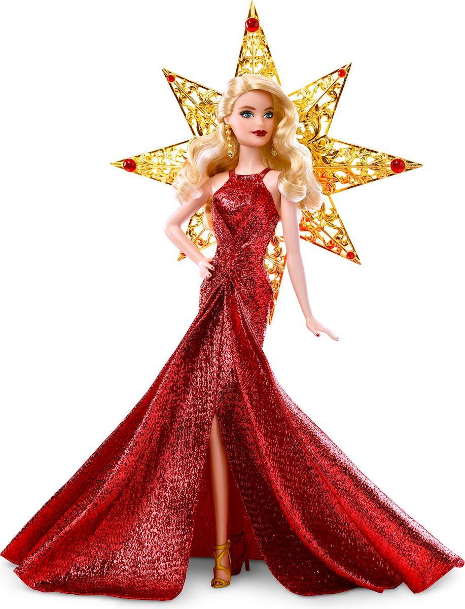 d22906a1e575a17 Barbie Кукла Праздничная в красном платье блондинка — купить в  интернет-магазине OZON с быстрой доставкой