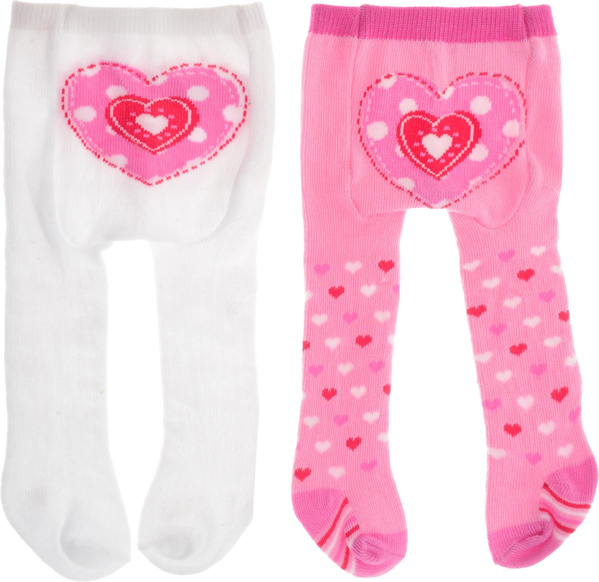 Baby Born Одежда для кукол Колготки цвет белый розовый 2 шт #1