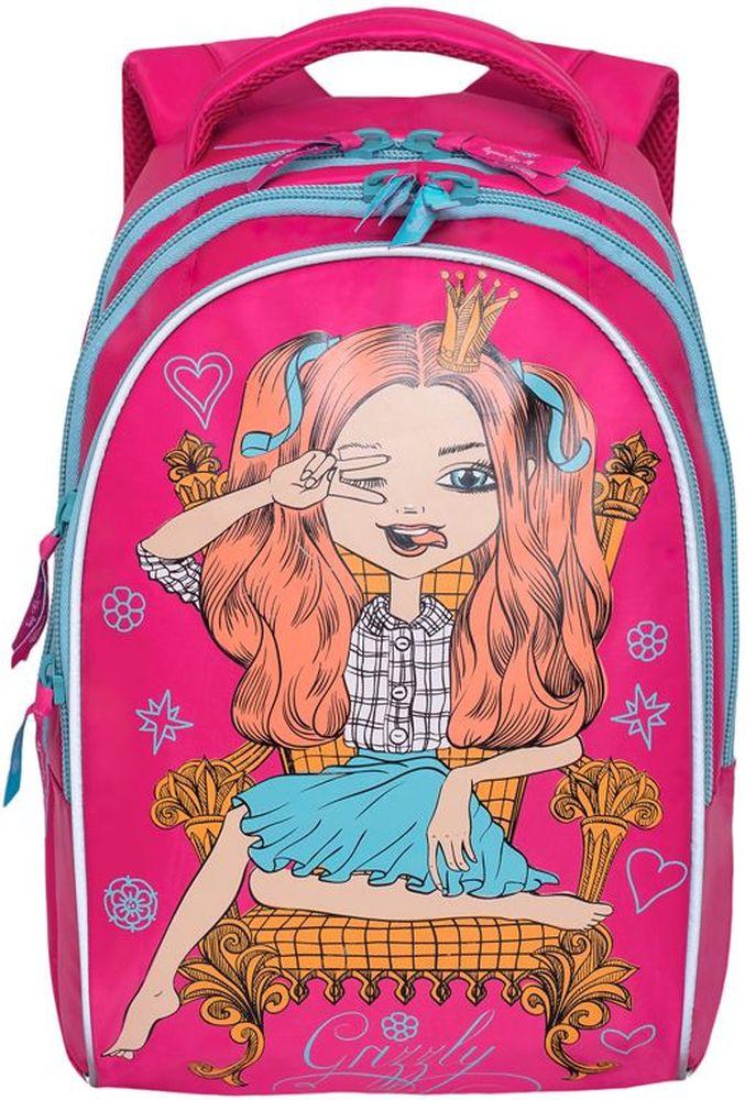 066736828f16 Grizzly Рюкзак цвет розовый RG-768-2 — купить в интернет-магазине OZON.ru с  быстрой доставкой