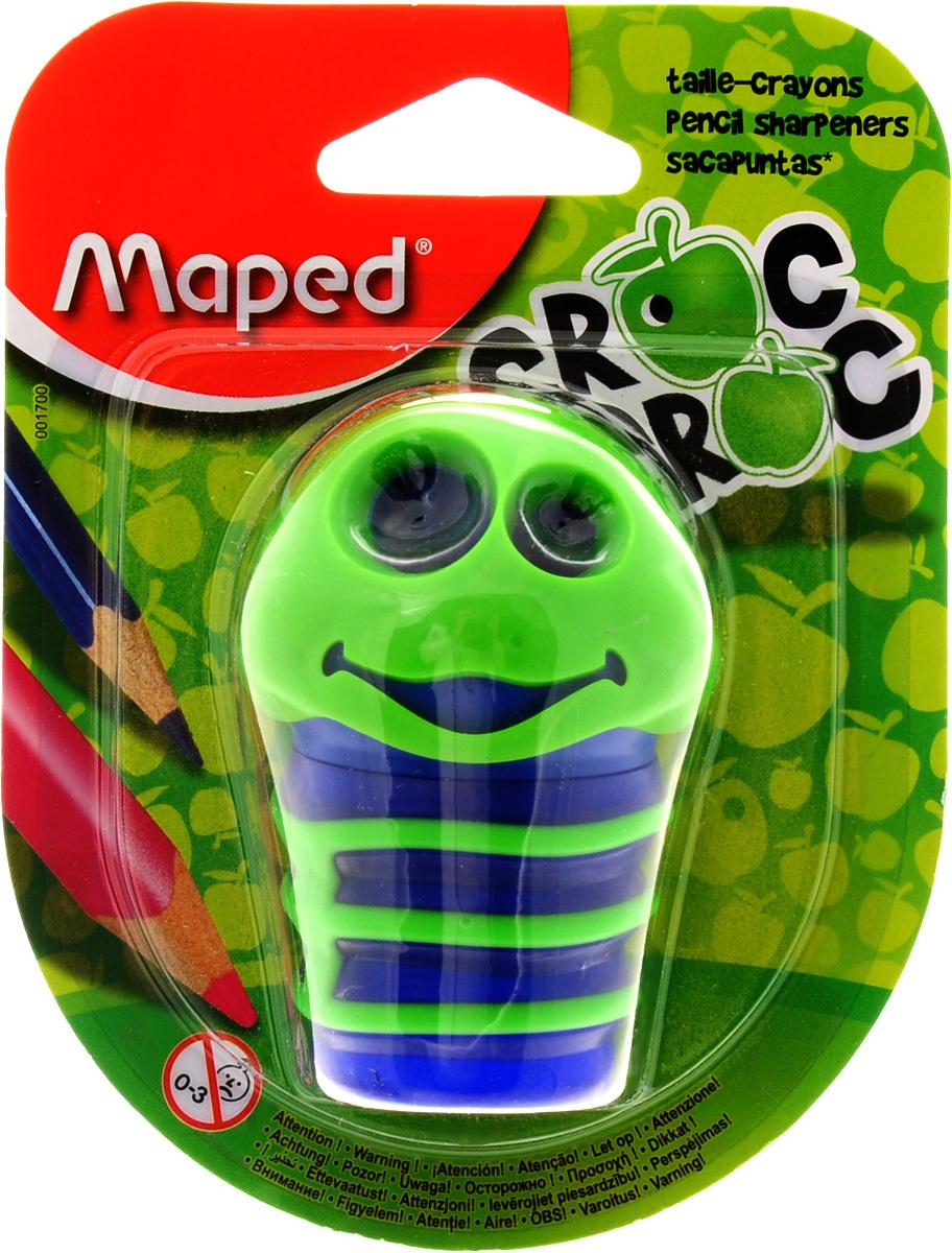 Maped Точилка Сroc Croc цвет зеленый синий #1