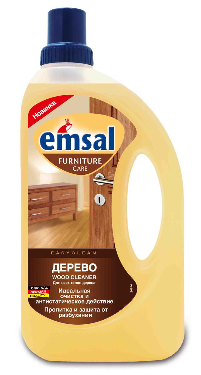 """Средство для чистки деревянных поверхностей """"Emsal"""", 750 мл #1"""