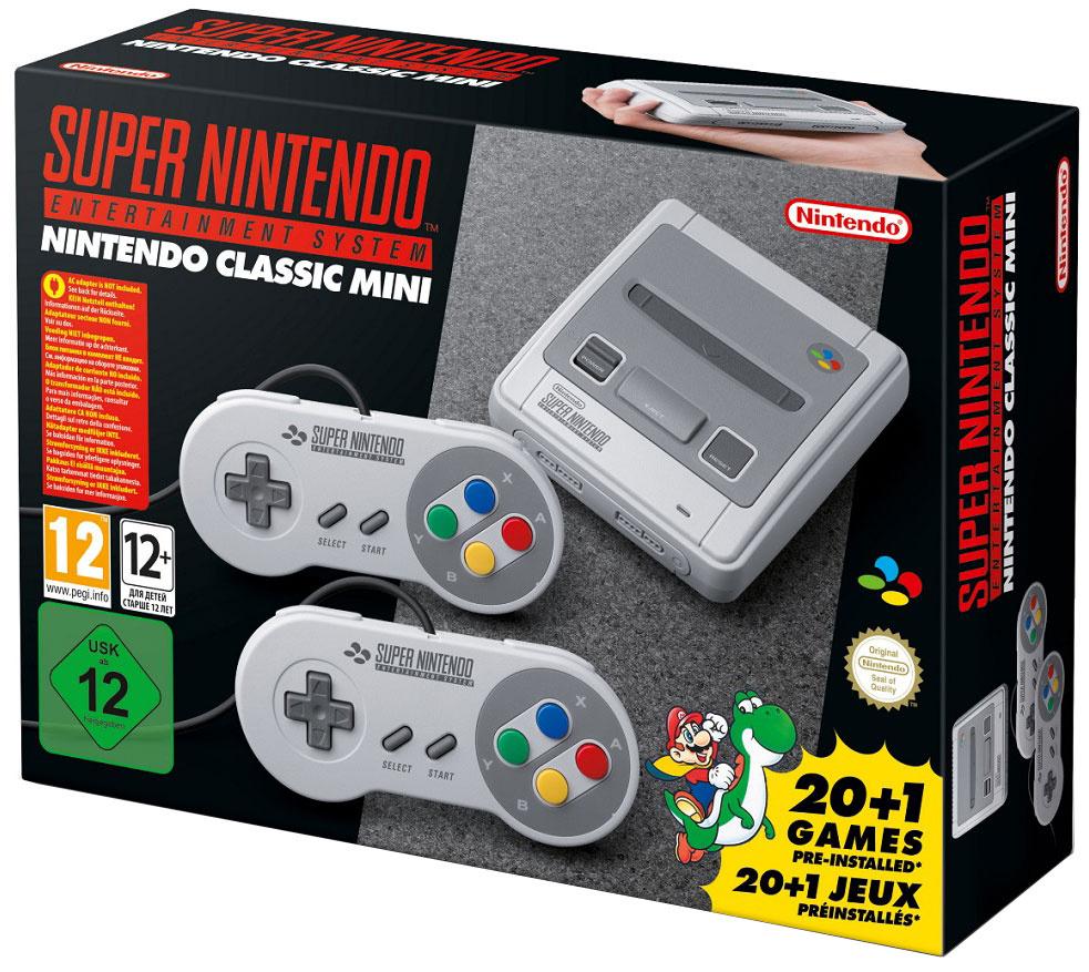 Nintendo Classic Mini: SNES, Gray стационарная игровая приставка #1