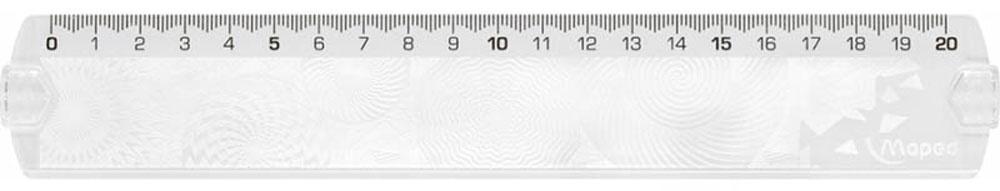 Maped Линейка Geocustom цвет прозрачный 20 см #1