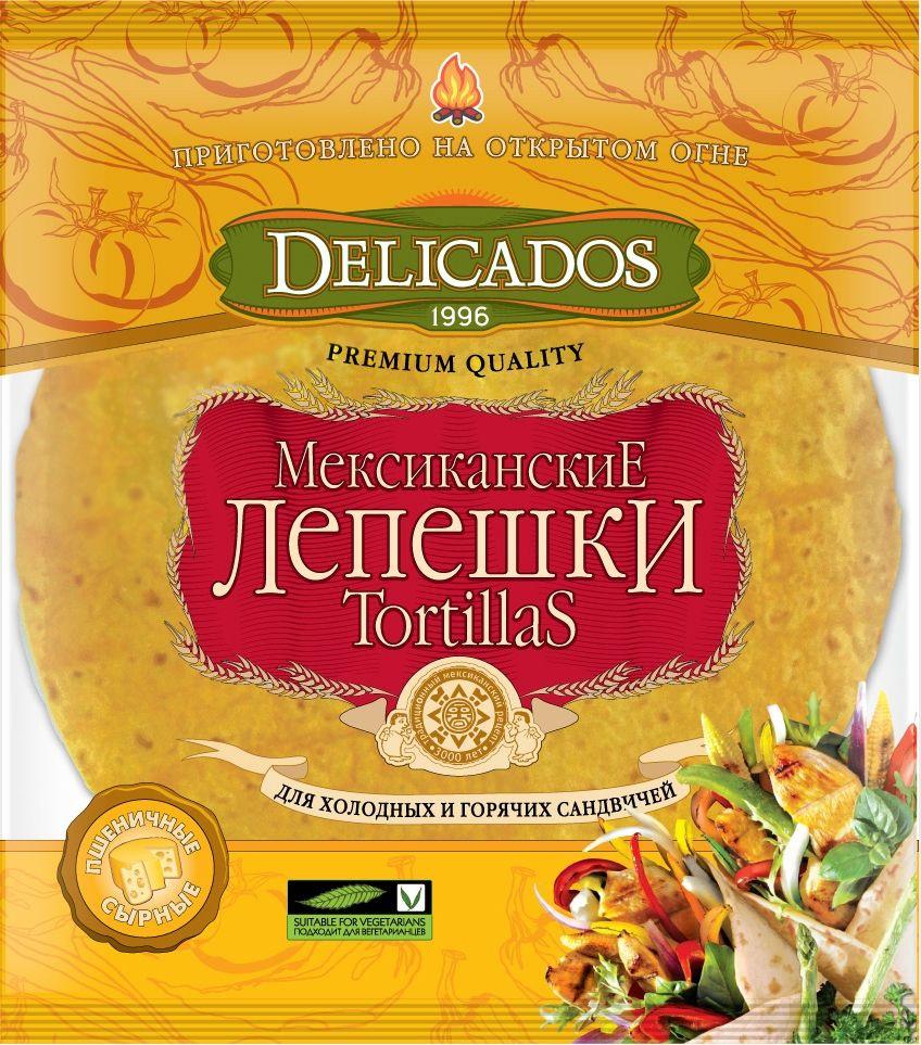 Delicados лепешки сырные, 400 г #1
