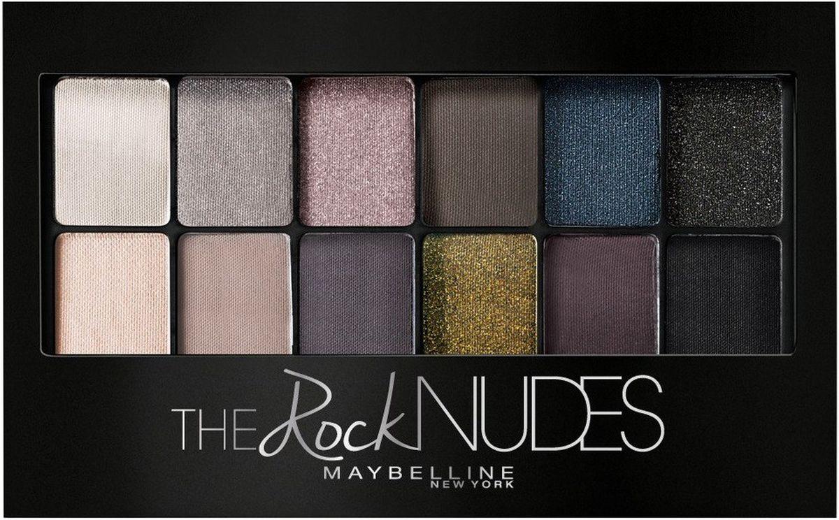 "Maybelline New York Палетка теней для век ""the Rock Nudes"", насыщенные оттенки, 9,6 г  #1"