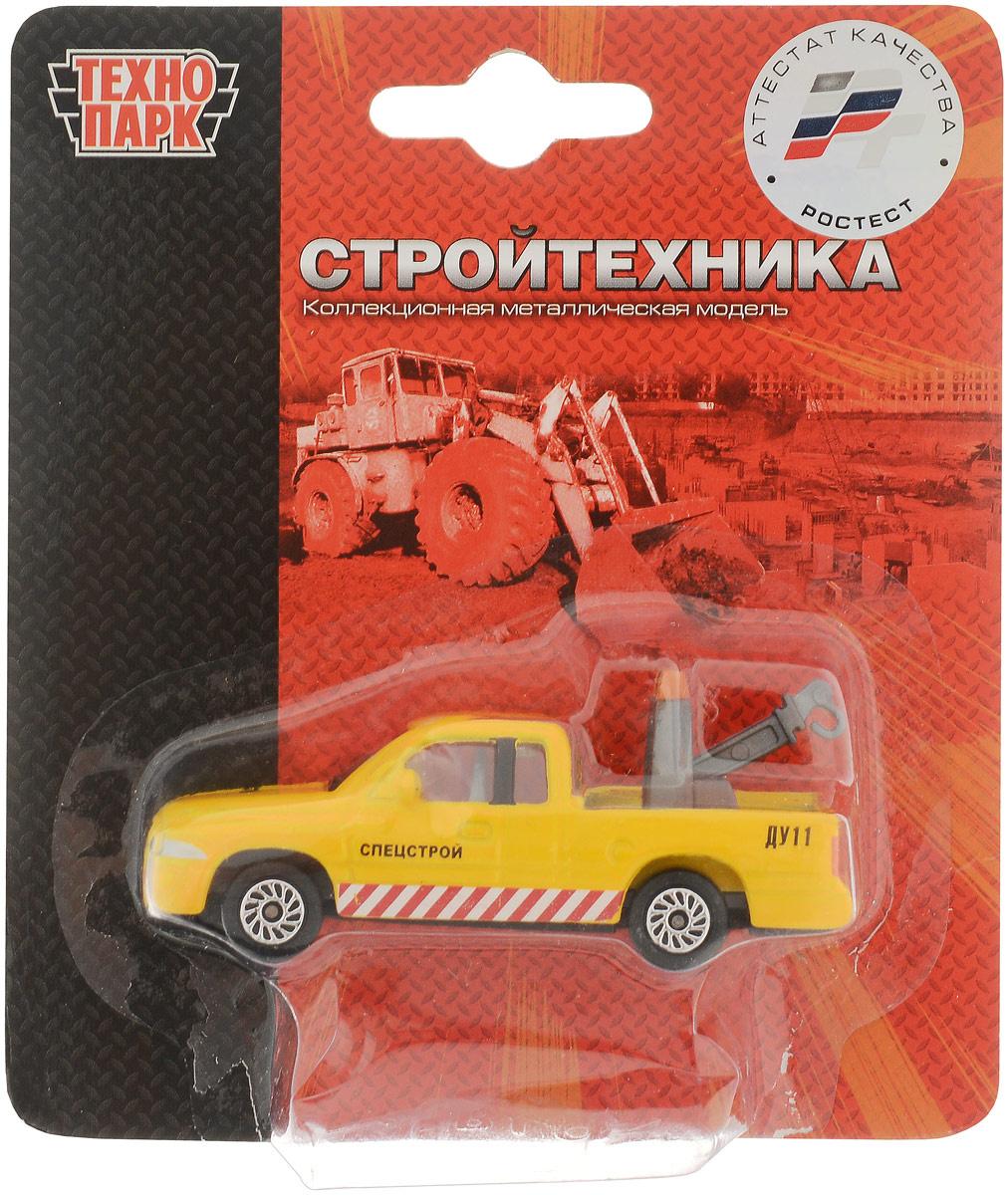 ТехноПарк Машинка Спецстрой ДУ11 с крюком #1