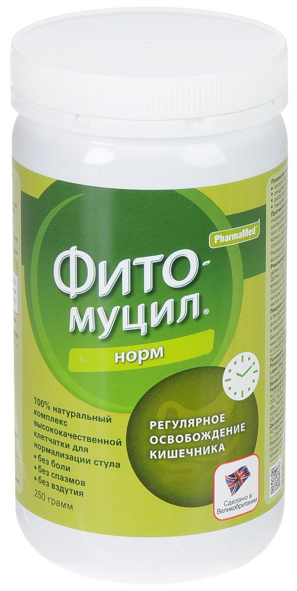 "Комплекс клетчатки PharmaMed ""Фитомуцил норм"", для нормализации стула, банка 250 г  #1"