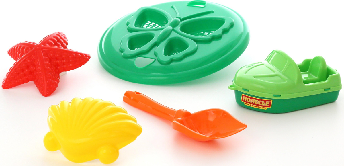 Полесье Набор игрушек для песочницы №373, цвет в ассортименте  #1
