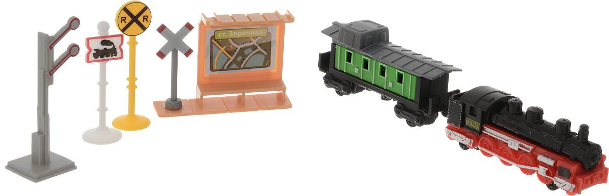 ТехноПарк Игровой набор Железнодорожная станция #1