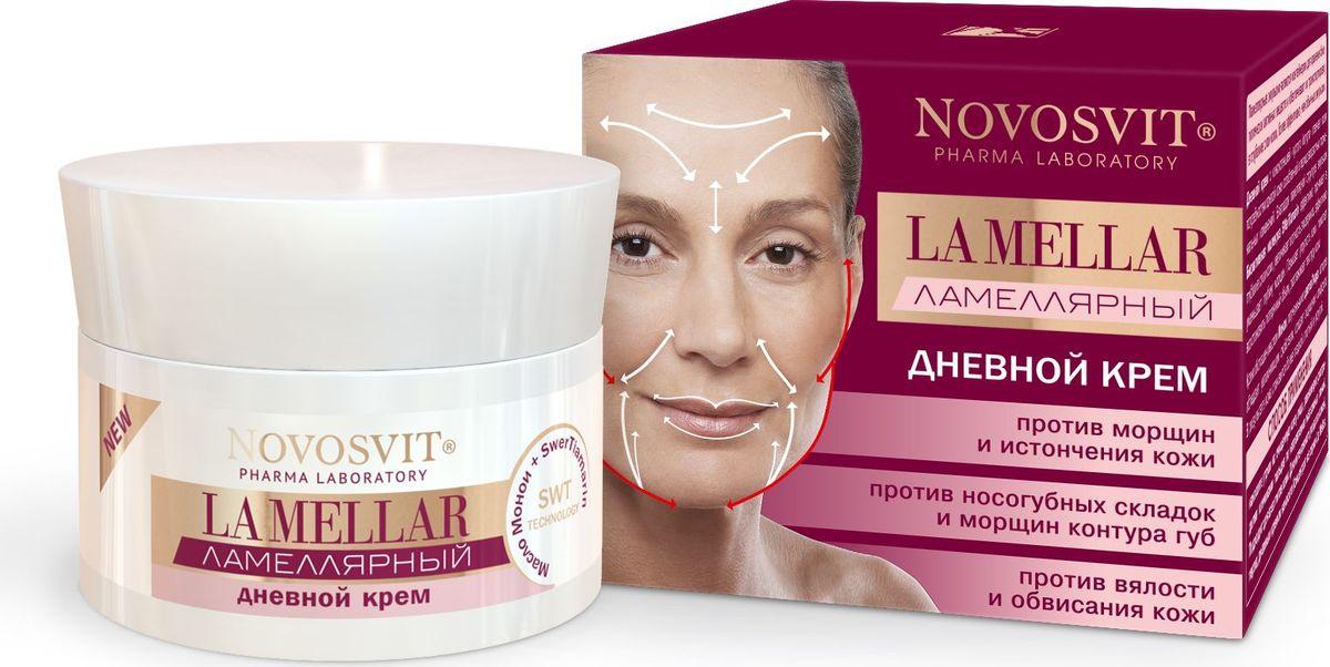 """Novosvit Антивозрастной ламеллярный дневной крем для лица """"LA MELLAR"""" от морщин, 50 мл  #1"""