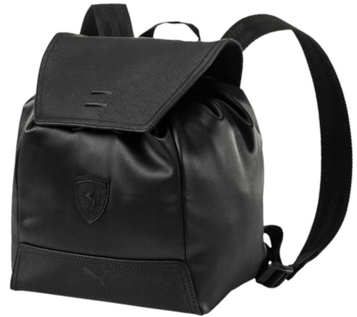 7b299ddfc3dc Рюкзак женский Puma Ferrari Ls Zainetto Backpack, цвет: черный, 7,5 л.  07484901 — купить в интернет-магазине OZON.ru с быстрой доставкой