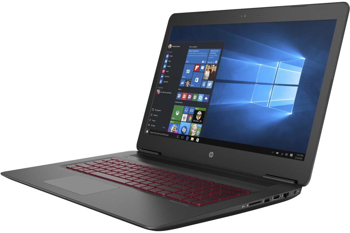 """17.3"""" Ноутбук HP HP Omen 17-w014ur (X5W69EA), HDD 2000 ГБ, (X5W69EA) #1"""