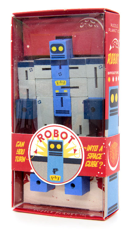 Professor Puzzle Головоломка Планета Пазл Робот #1
