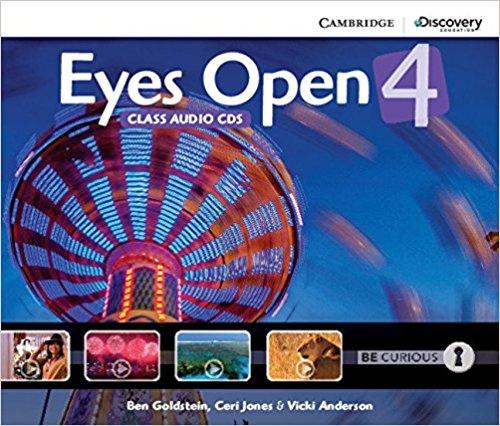 Eyes Open 4 (Class Audio CDs) | Goldstein Ben, Jones Ceri #1