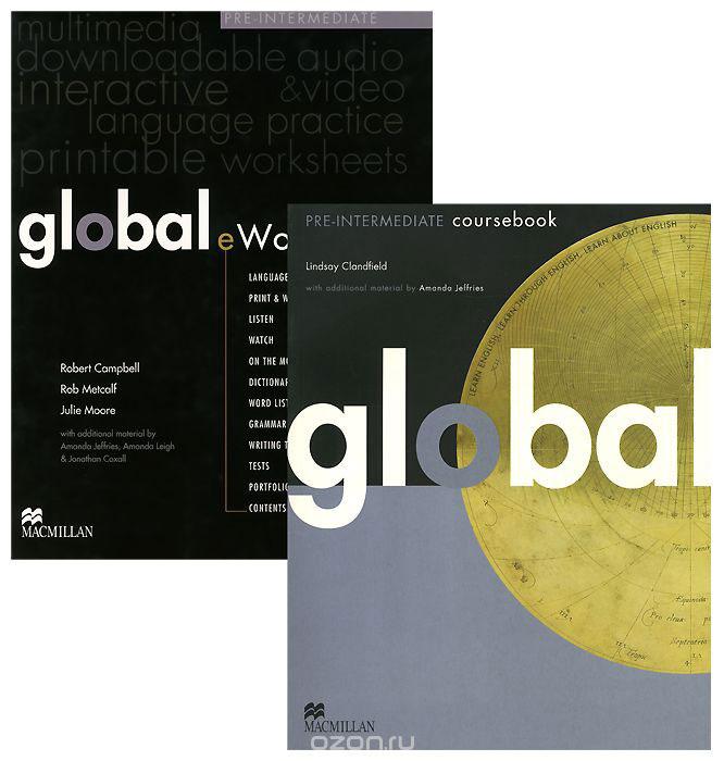 Global Pre-intermediate: Coursebook with eWorkbook Pack   Clandfield Lindsay #1