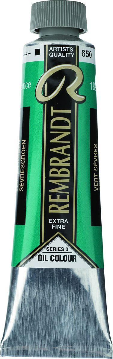 Royal Talens Краска масляная Rembrandt цвет 650 Зеленый севрский 40 мл  #1