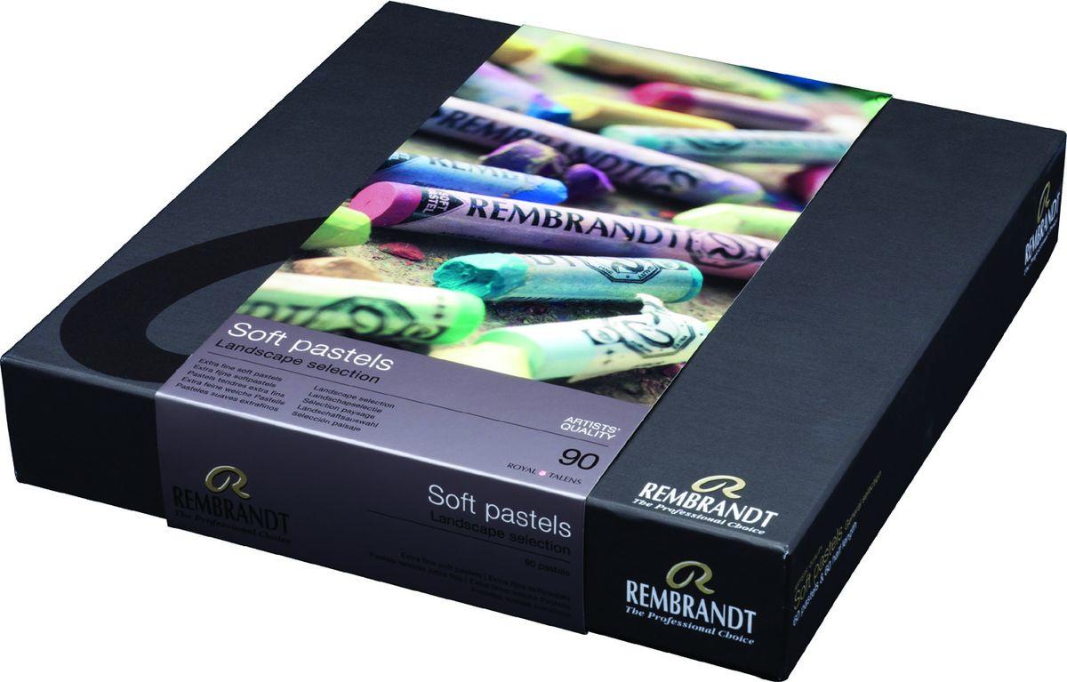 Royal Talens Набор пастели Rembrandt Профессиональный Ландшафт 90 цветов 31823092  #1