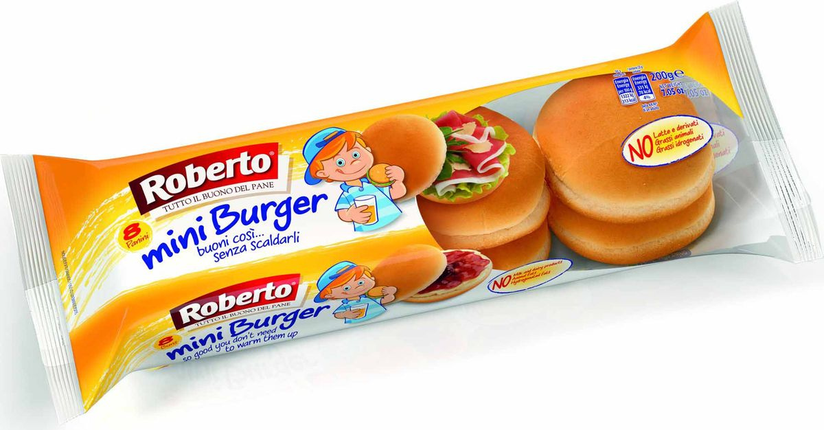 Roberto Мини-бургер 8 шт, 200 г #1